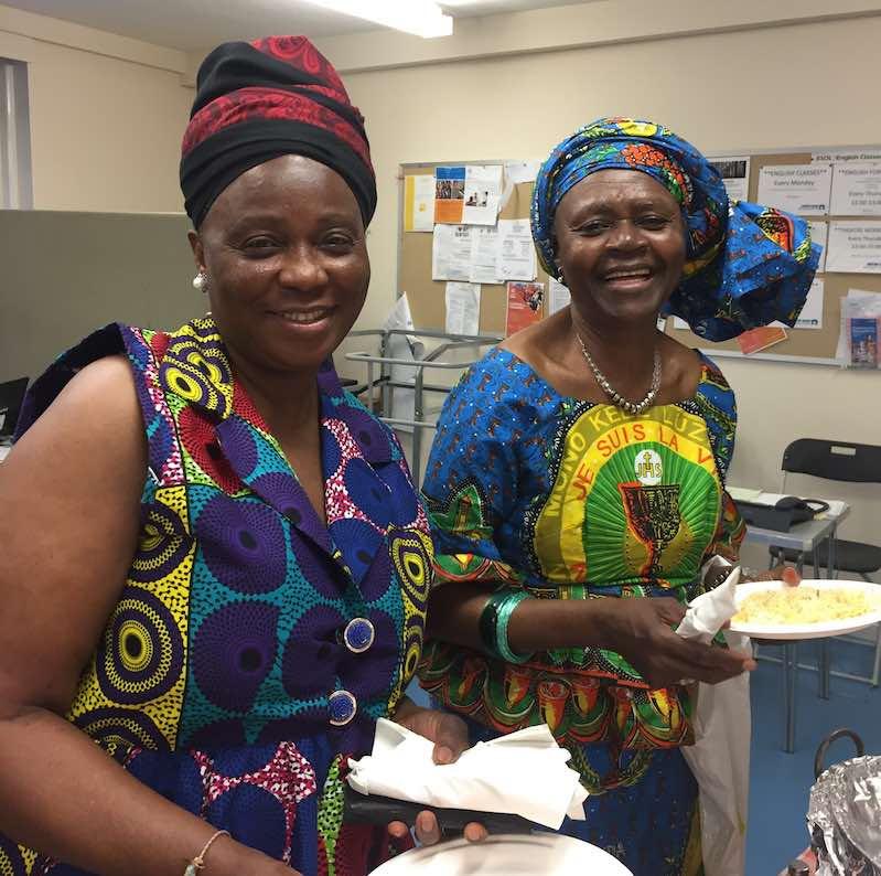 joyfull african women