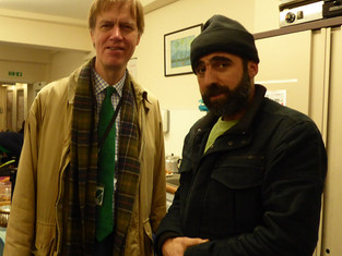 Welcome Mr. MP Stephen Timms to our  Refugee Centre