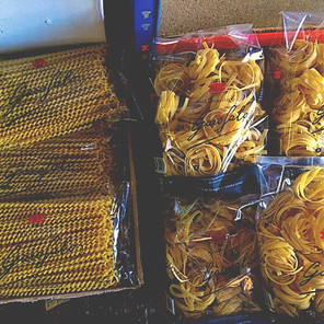 Stocked with loads of pasta!