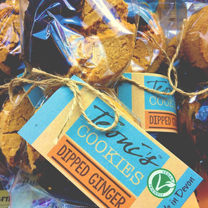 Dipped Ginger Cookies :)