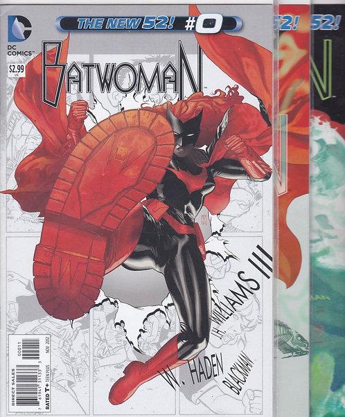 Batwoman #0-7 - NEW 52