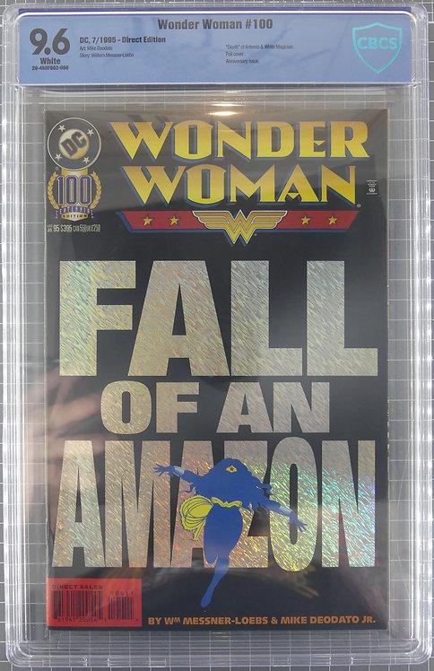 Wonder Woman #100 CBCS 9.6 - Death of Artemis - FOIL COVER!