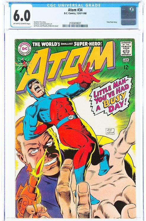 The Atom #34 CGC 6.5 (1968)