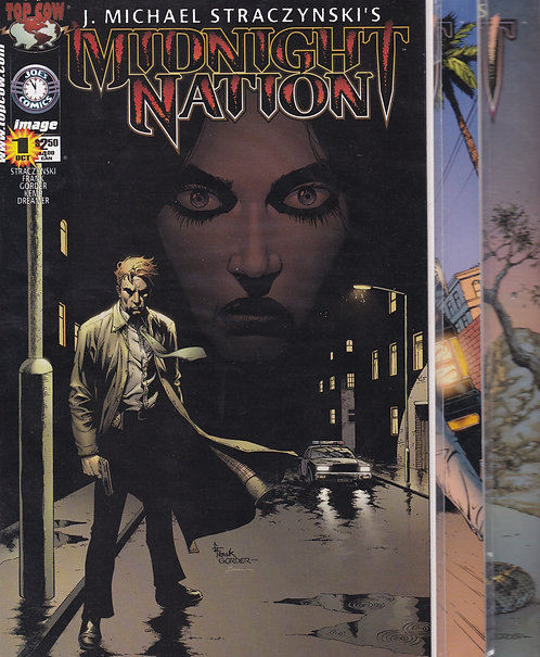 Midnight Nation #1-12 - Top Cow Comics (Complete)