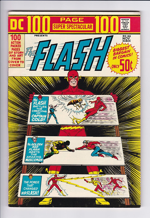 DC 100 Page Super Spectacular #22 - Flash Special! (1973)