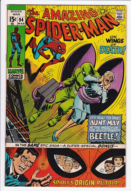 Amazing Spider-Man #94 - Spider-Man Origin Retold!