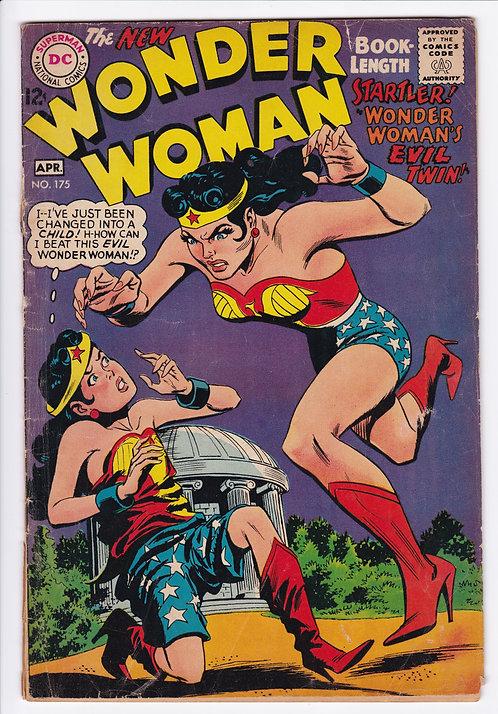 Wonder Woman #175 (1968) - Wonder Woman's Evil Twin!