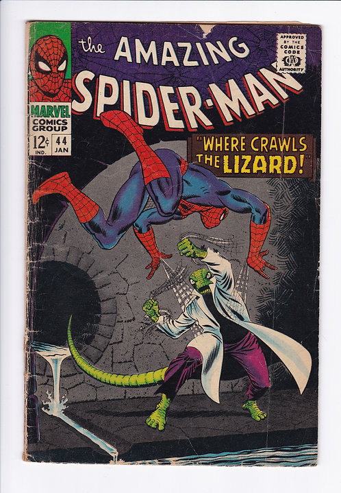 Amazing Spider-Man #44 - 2nd Appearance of the Lizard