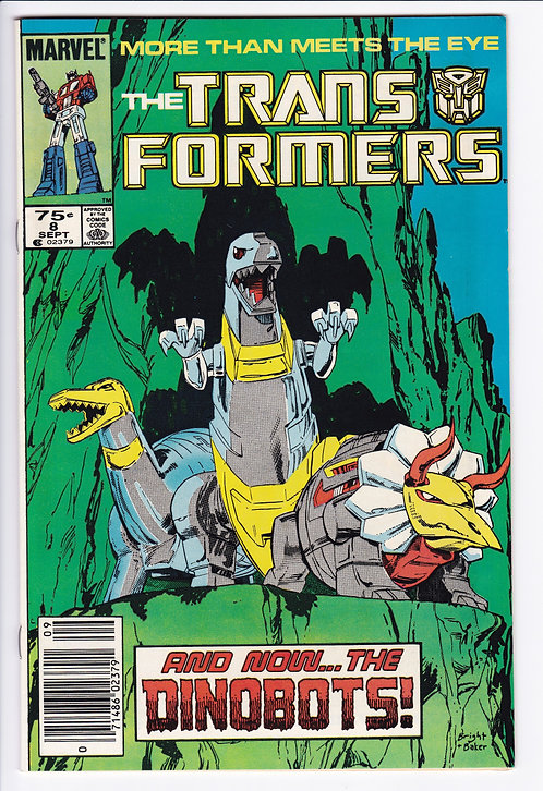 The Transformers #8 - 1st Appearance of Dinobots!