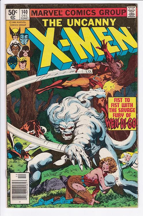 Uncanny X-Men #140 - Alpha Flight Disbands