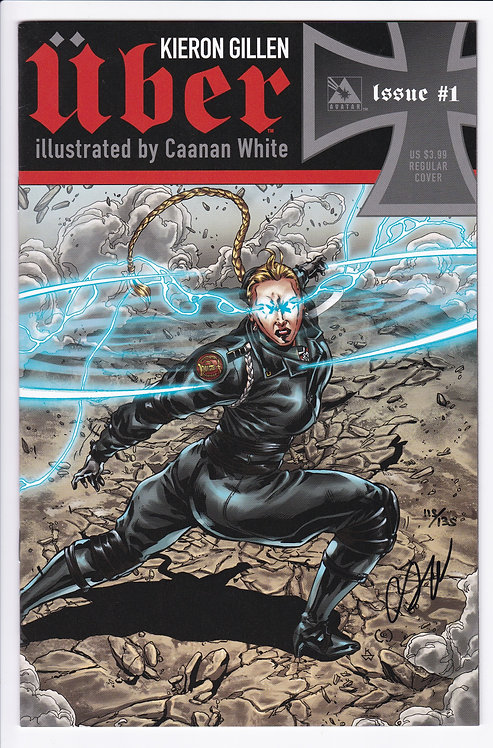 Uber #1 - Signed by Caanan White