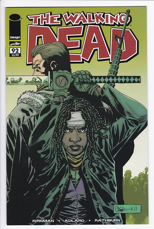 The Walking Dead #92 - 1st Appearance of Jesus