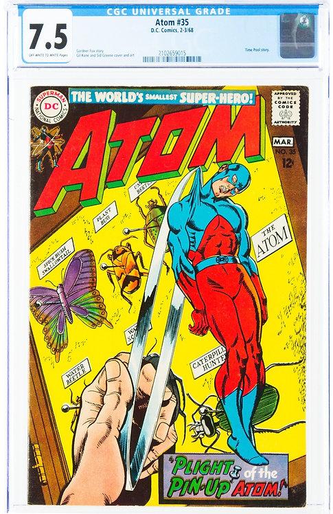 The Atom #35 CGC 7.5 (1968)