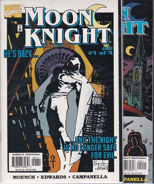 Moon Knight #1-4 - Moench & Edwards Mini Series