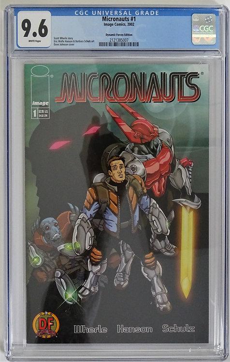 Micronauts #1 CGC 9.6 - Dynamic Forces Edition!
