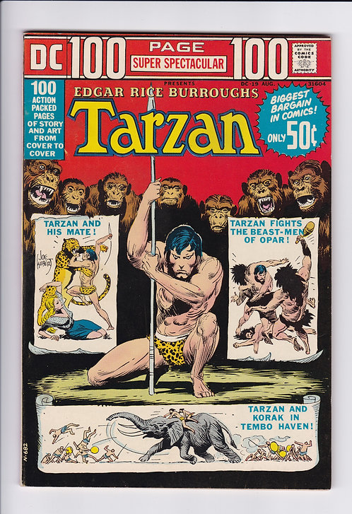 DC 100 Page Super Spectacular #19 - Tarzan Special! (1973)