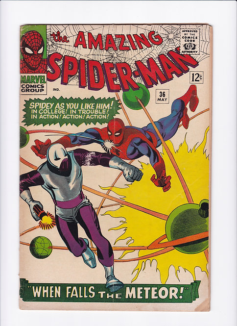 Amazing Spider-Man #36 - 1st Appearance of The Looter