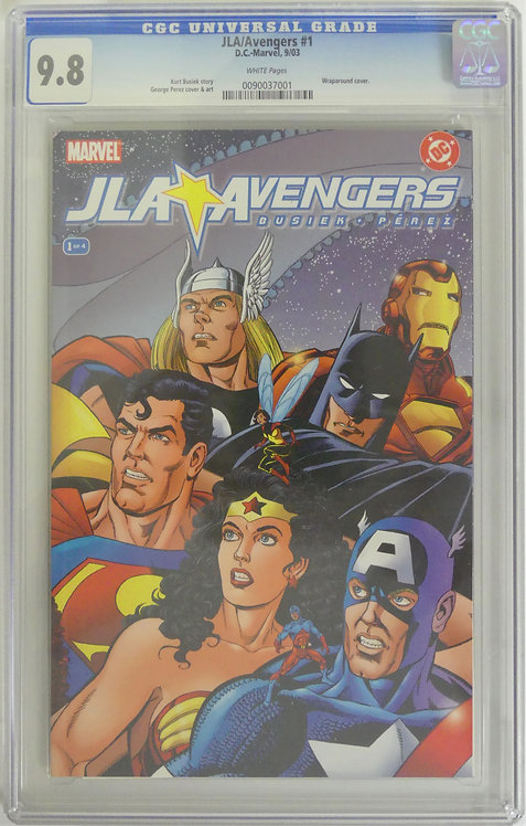 JLA/Avengers #1 CGC 9.8 - Epic DC and Marvel Crossover!