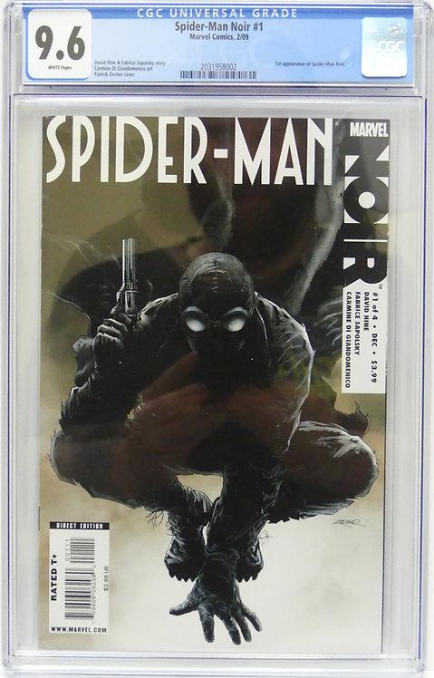 Spider-Man Noir #1 CGC 9.6 - 1st Appearance of Spider-Man Noir