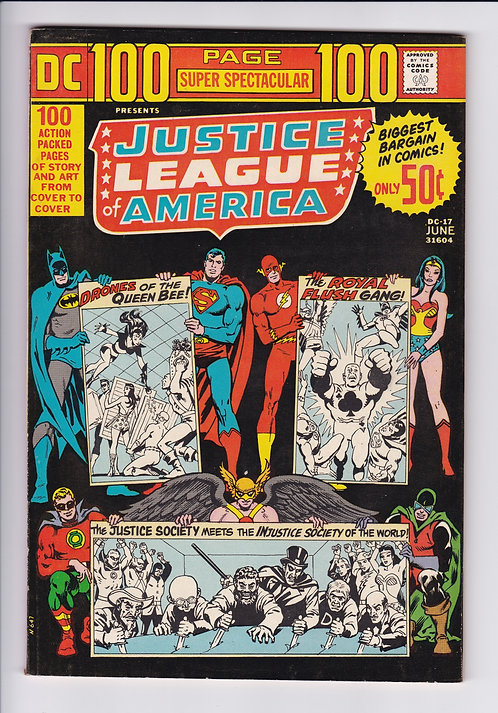 DC 100 Page Super Spectacular #17 - Justice League of America (1973)