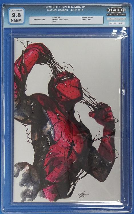 Symbiote Spider-Man #1 HALO 9.8 - Gabrielle Dell' Otto Cover