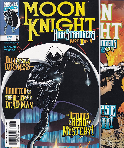 Moon Knight: High Strangers #1-4 - Complete Set
