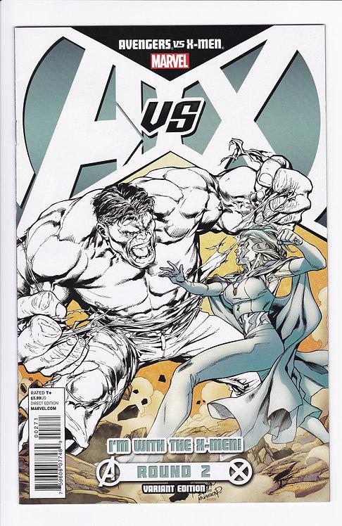 Avengers VS X-Men #2 - Variant Cover