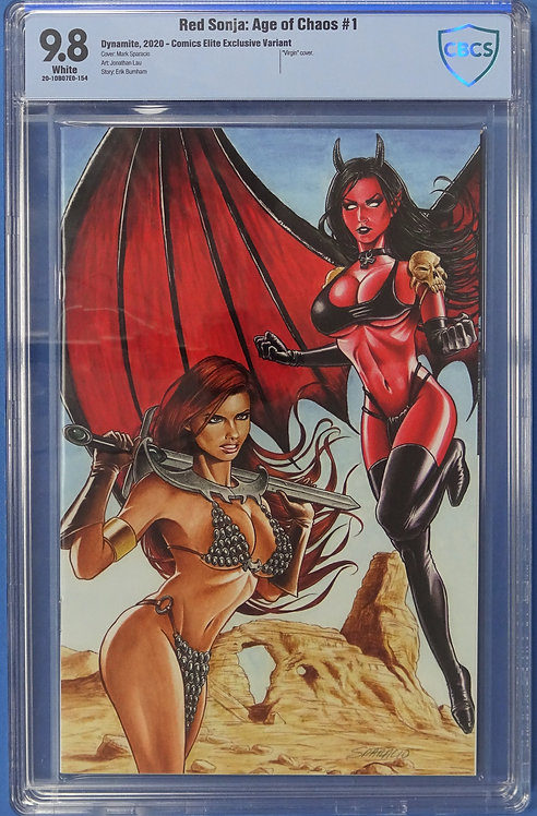 Red Sonja: Age of Chaos #1 CBCS 9.8 - Virgin Cover