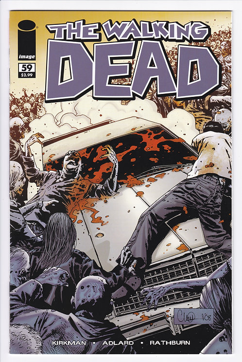 The Walking Dead #59 - 1st Print