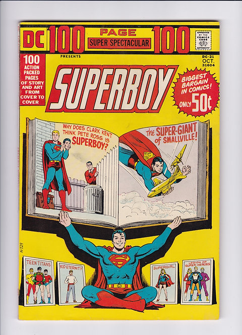 DC 100 Page Super Spectacular #21 - Featuring Superboy, Supergirl & More! (1973)