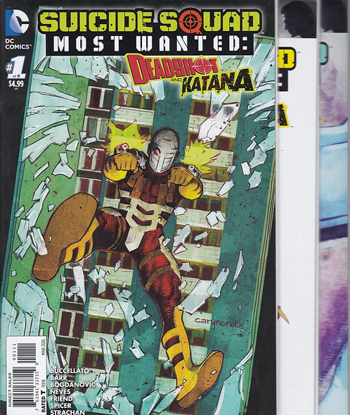 Suicide Squad: Most Wanted #1-6 - Deadshot & Katana