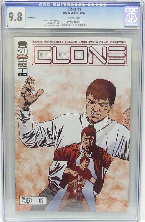 Clone #1 CGC 9.8 - Variant Cover