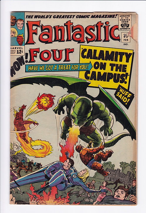 Fantastic Four #35 - 1st Appearance of Dragon Man (1964)