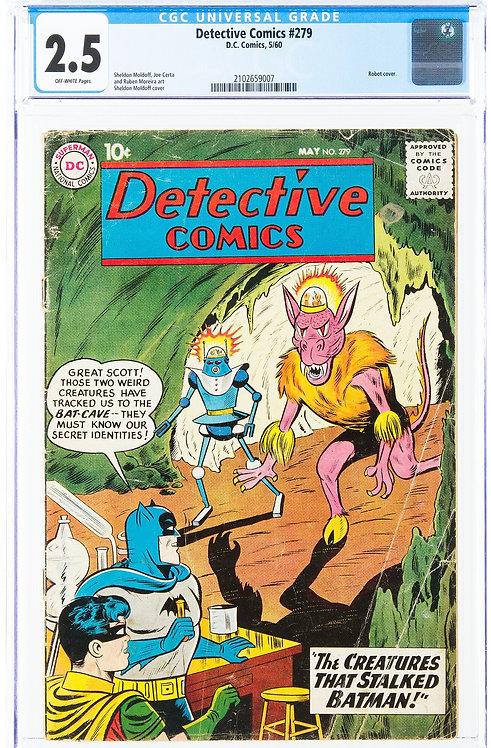 Detective Comics #279 CGC 2.5 (1960)