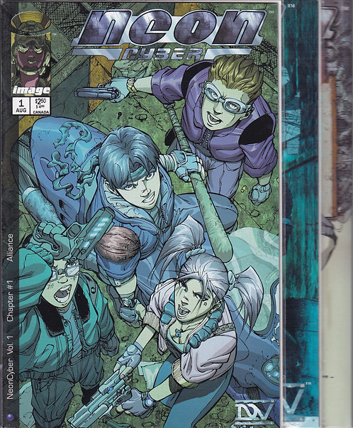 Neon Cyber #1-8 - Image Comics (Complete)