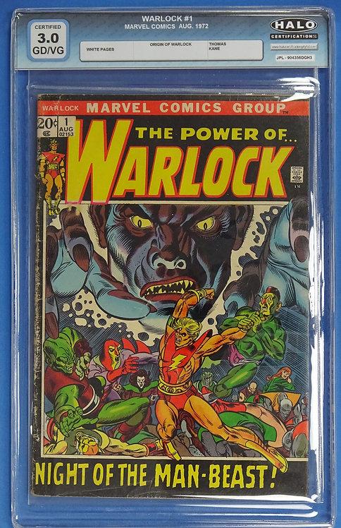Warlock #1 HALO 3.0 - Origin of Warlock