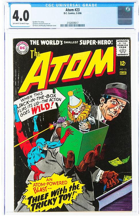 The Atom #23 CGC 4.0 (1966)