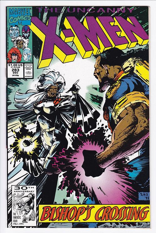 Uncanny X-Men #283 - 1st Appearance of Bishop NM