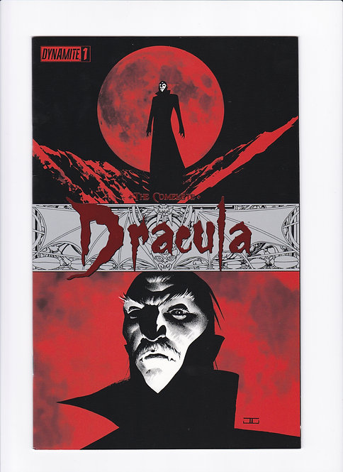The Complete Dracula #1 - RARE 1 of 190 Foil Cover Copies