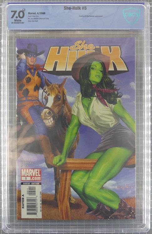 She-Hulk #5 CBCS 7.0 - TV Series Confirmed!