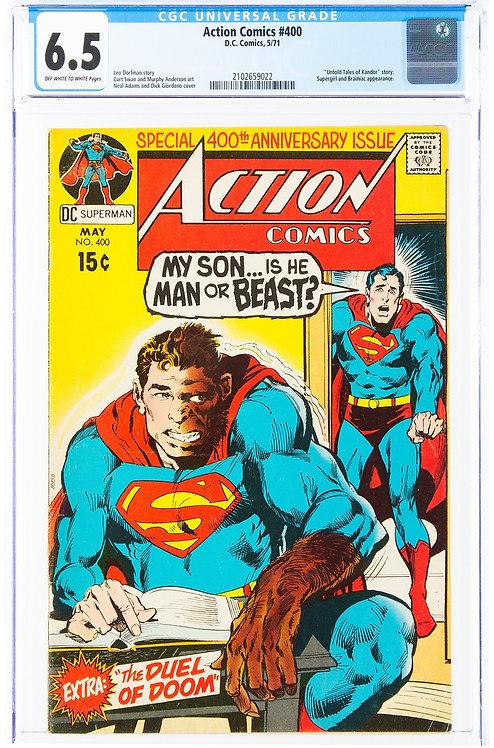 Action Comics #400 CGC 6.5 (1971)
