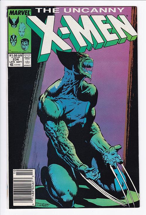 Uncanny X-Men #234 - Wolverine Cover