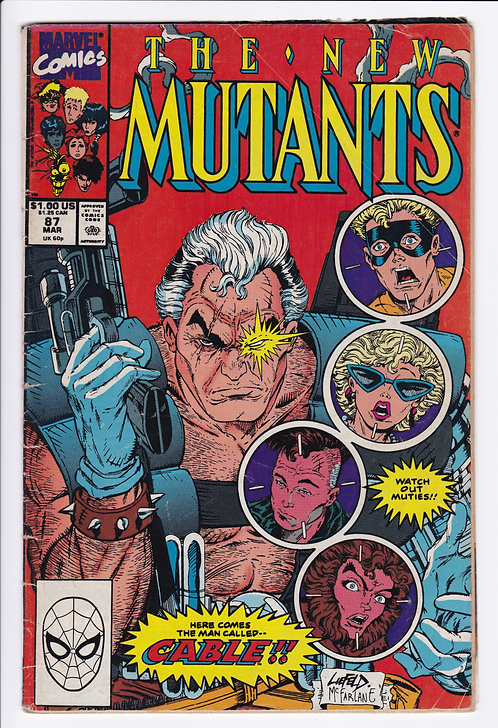 New Mutants #87 - 1st Appearance of Cable