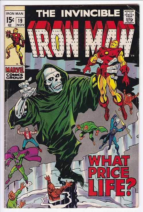 Iron Man #19 (1969) -Madame Masque ID revealed