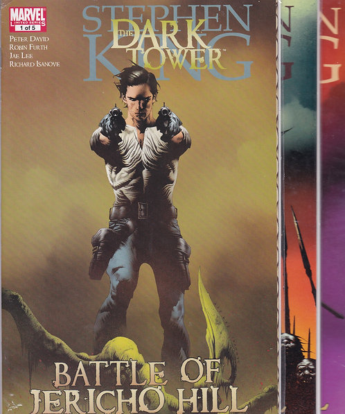 The Dark Tower: Battle of Jericho Hill #1-5 - Stephen King Story (Complete)