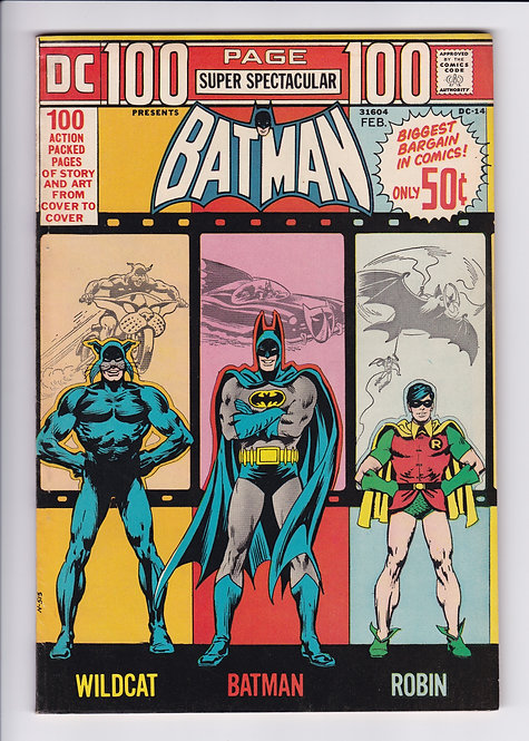 DC 100 Page Super Spectacular #14 - Featuring Batman, Robin & More! (1973)
