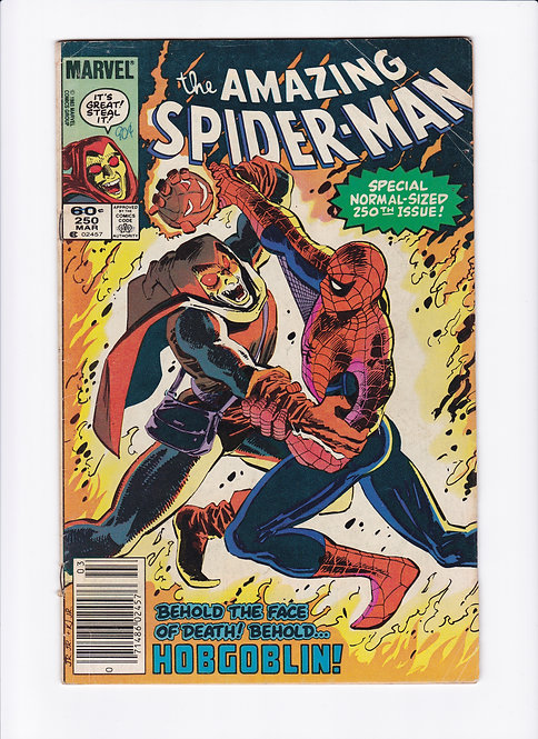 Amazing Spider-Man #250 - Special 250th Issue!