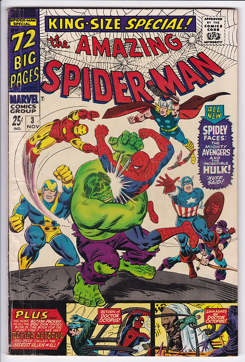 Amazing Spider-Man Annual #3 - King Size Special!