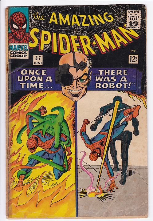 Amazing Spider-Man #37 - 1st Appearance of Norman Osborn (incomplete)