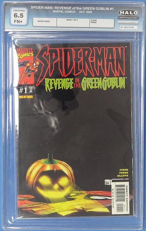 Spider-Man: Revenge of the Green Goblin #1 HALO 6.5